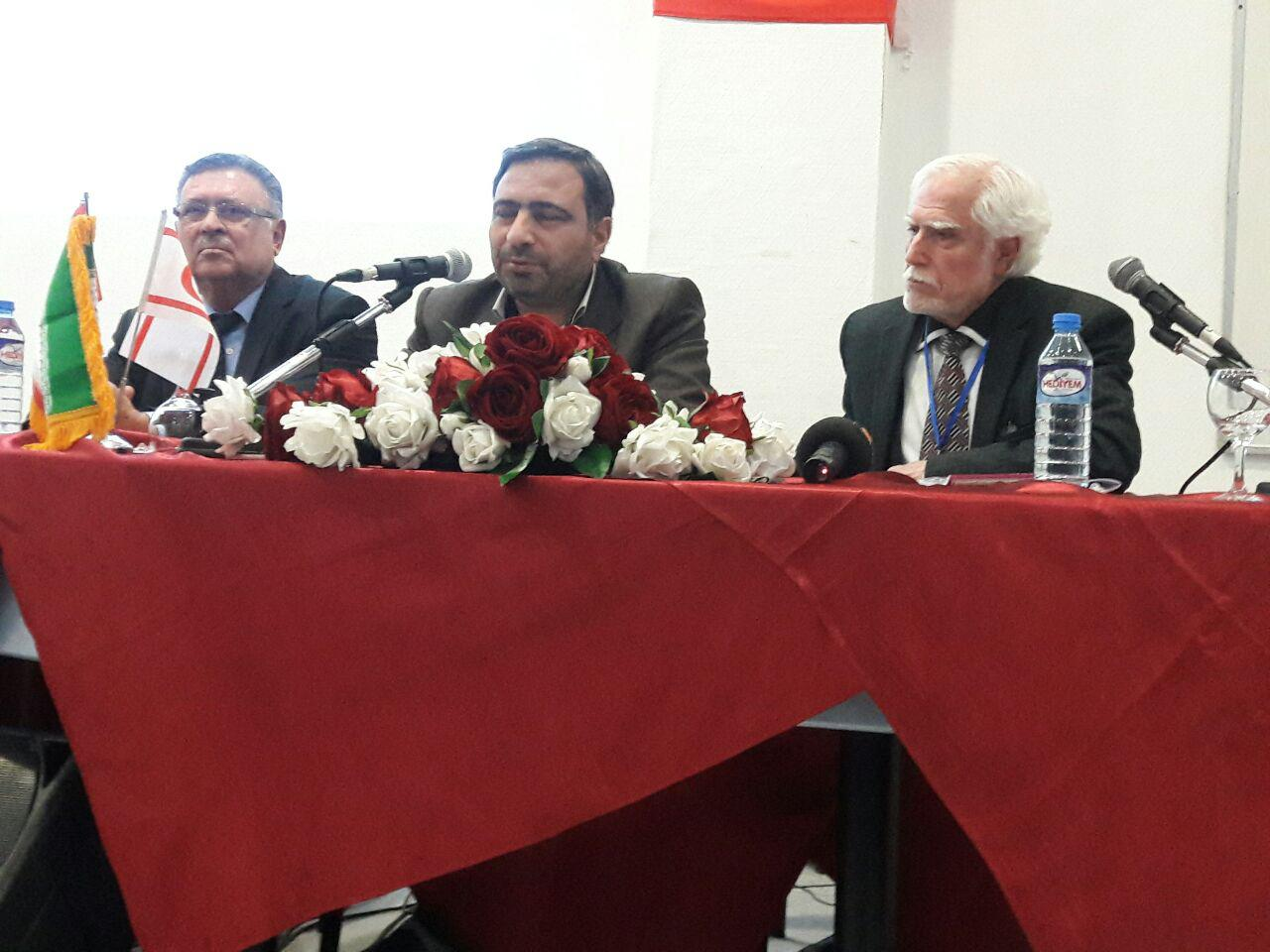 "Near East University 1st  International Literary Congress in Memory of Muhammad Hussein Şehriyar "" ends"