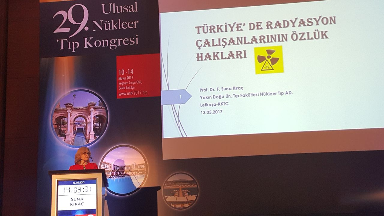 Near East University Faculty of Medicine represented at 29th National Nuclear Medicine Congress