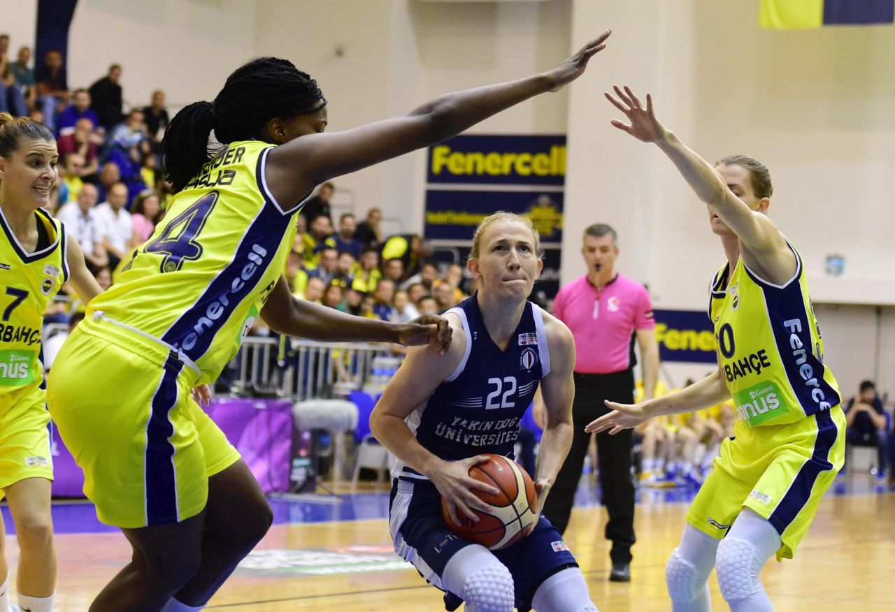 The Champion will be determined at the last match: Fenerbahçe: 79 – Near East University: 72