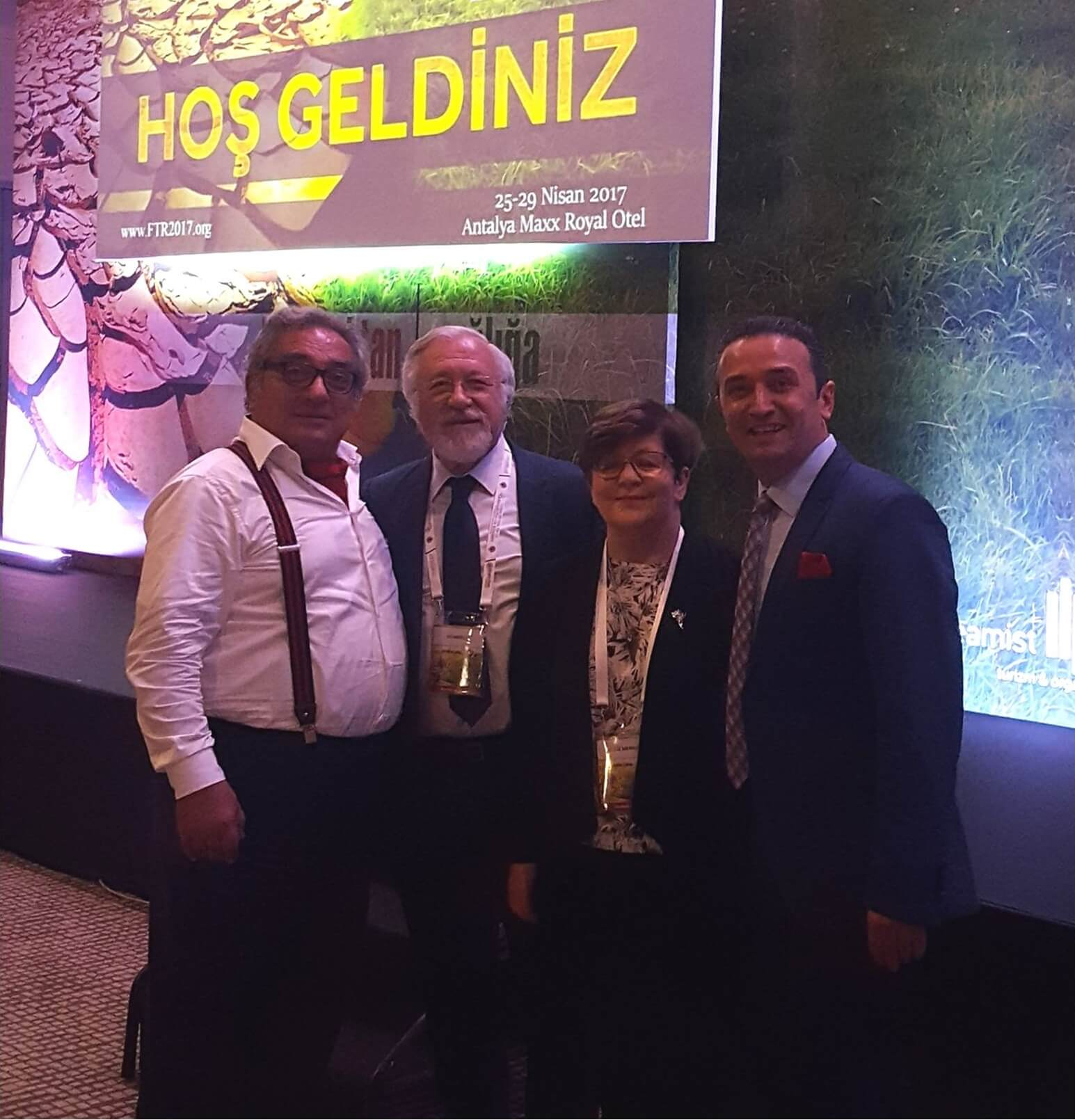 Near East University represented at 26th National FTR Congress of Turkey