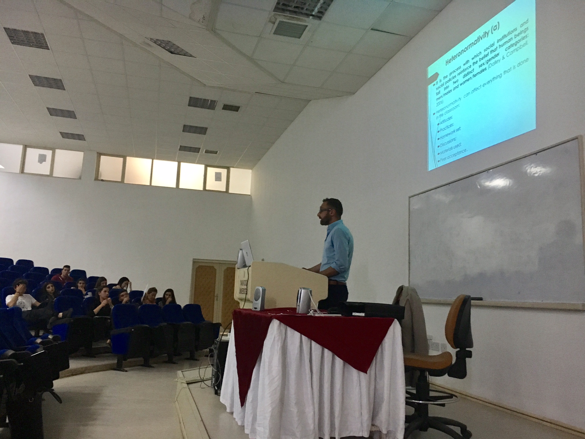 Research Centre for Applied Linguistics (RCAL) held a seminar on Heteronormativity in English as a Foreign Language Classrooms
