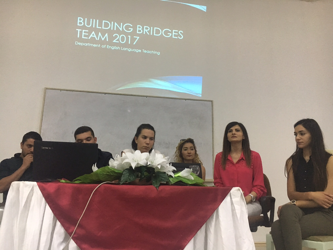 "Near East University Research Centre for Applied Linguistics has successfully completed its second year of its project ""Building Bridges"""