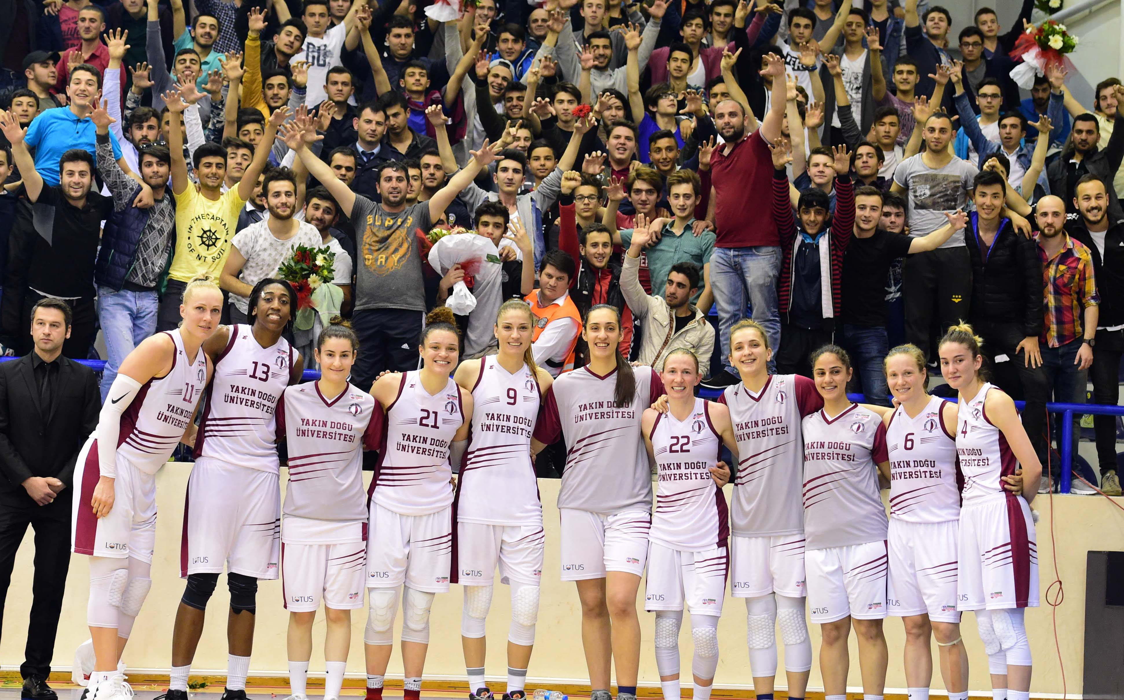 First step to championship … Near East University: 78 – Fenerbahçe: 70