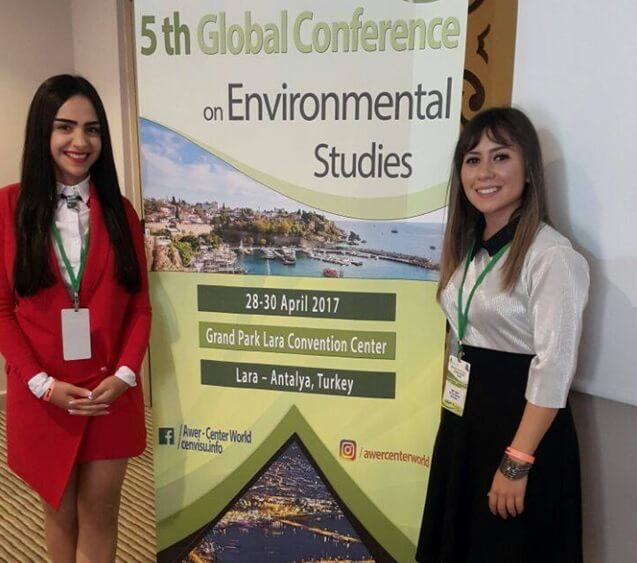 Near East University Landscape Architecture Department represented at International Environment Conference