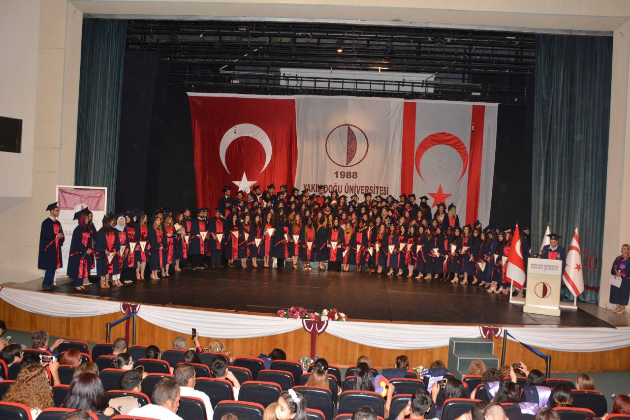Near East University, Faculty of Health Sciences  2016 – 2017 Spring Semester Graduation Ceremony  held