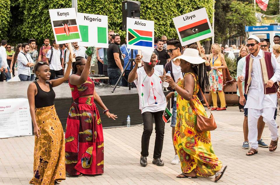 "Cultures Blended … ""International Culture Festival"" was held"