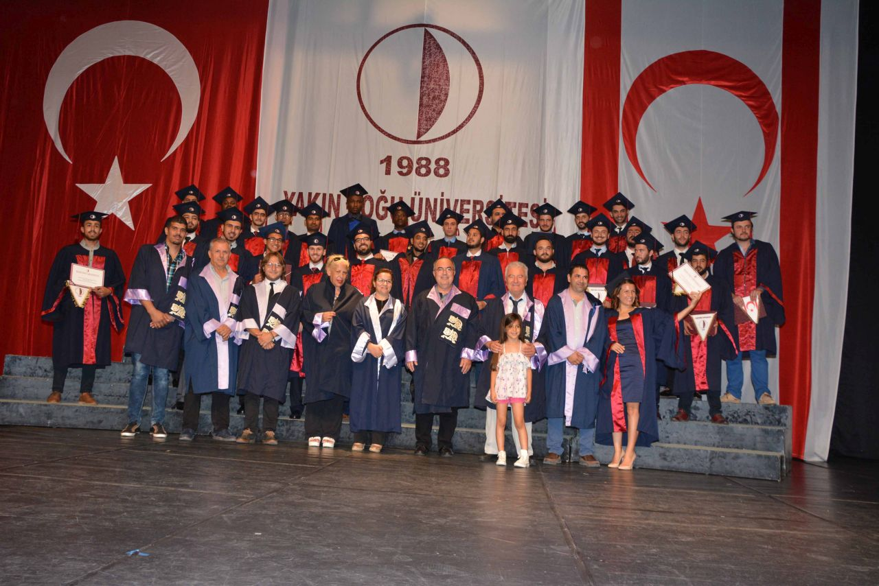 Near East University New Generation Engineers were awarded their diplomas