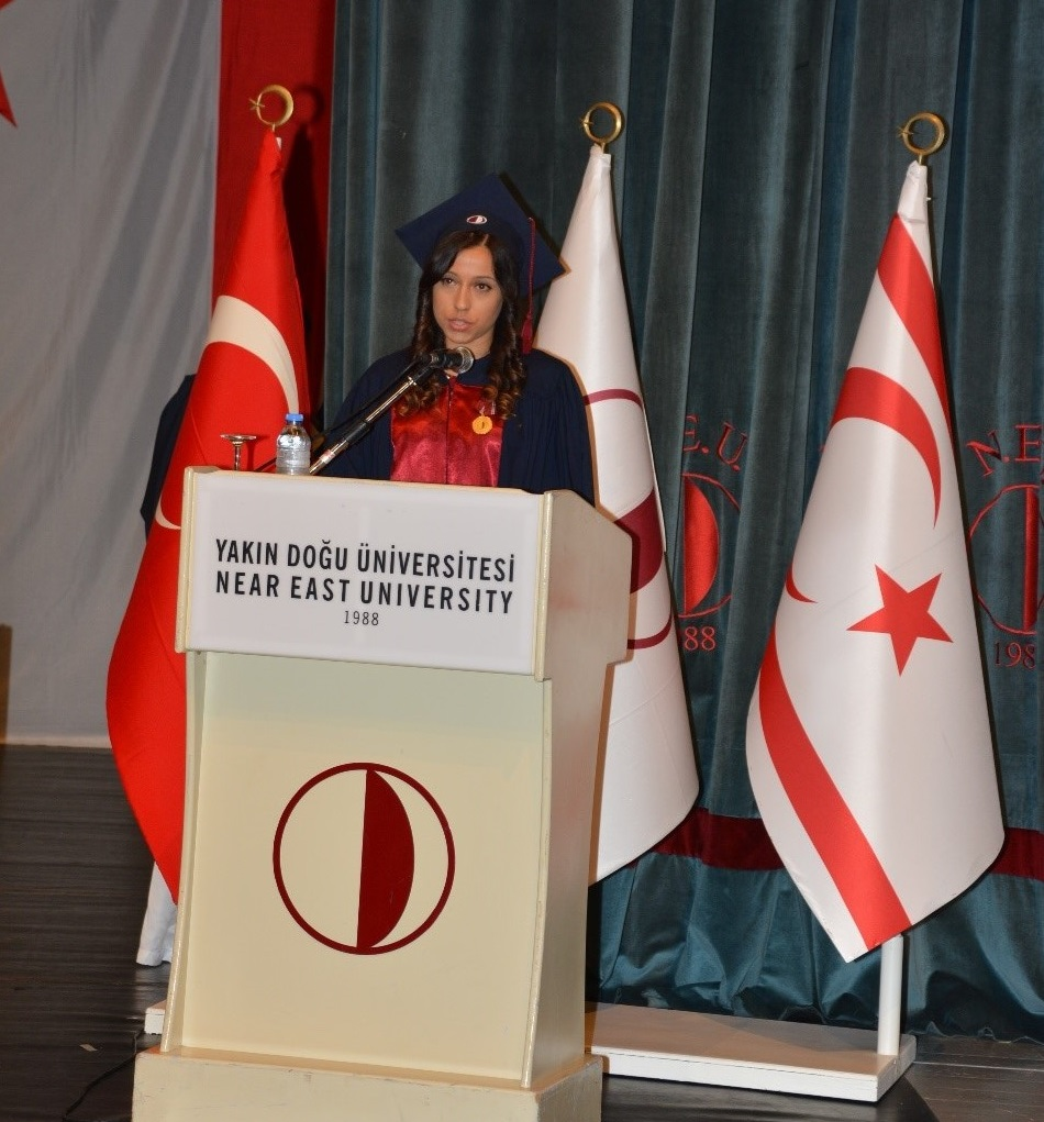 Near East University Faculty of Arts and Sciences graduates received their diplomas with a ceremony