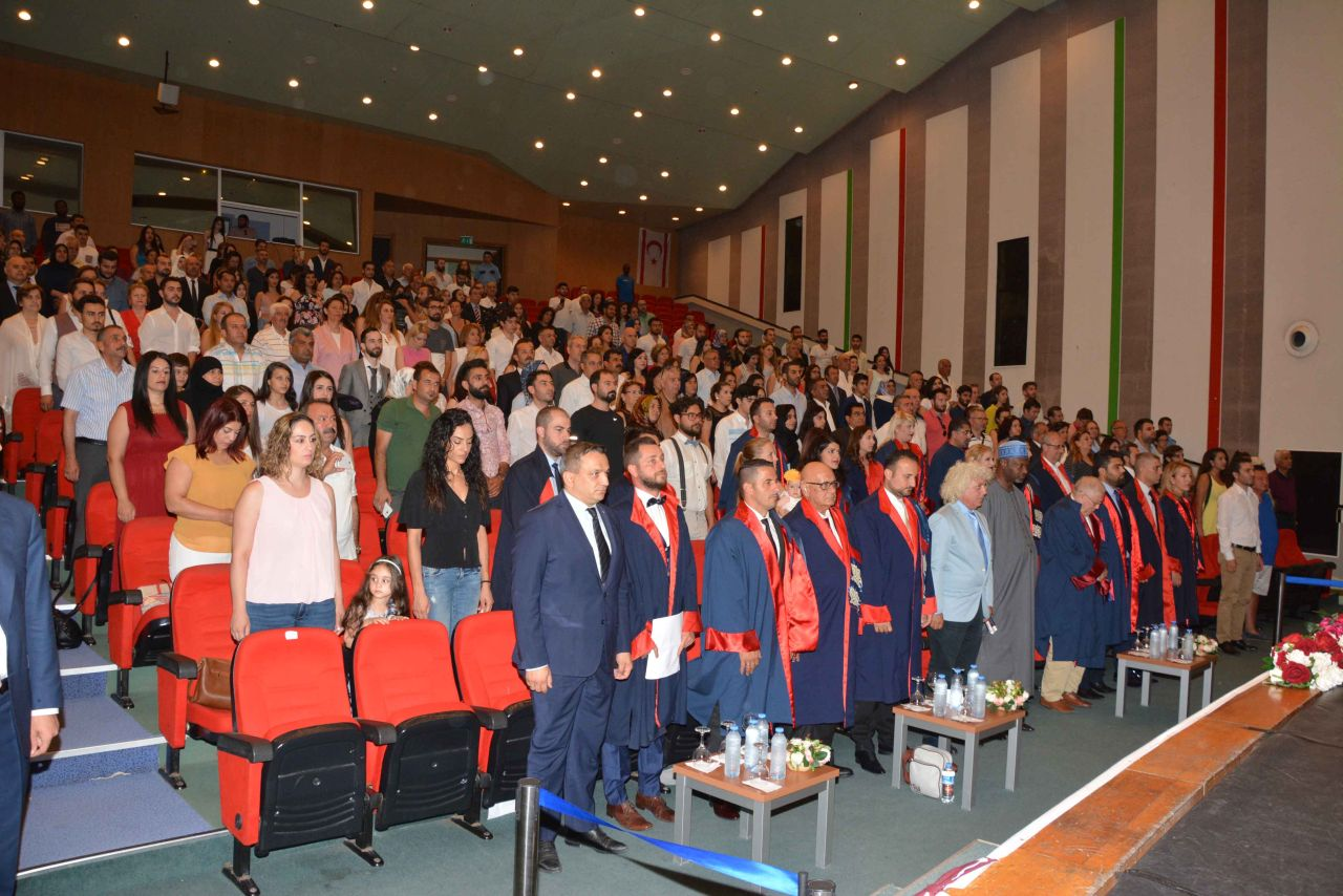 Near East University Faculty of Law 2016 – 2017 Spring Semester Graduation Ceremony was held with intensive participation