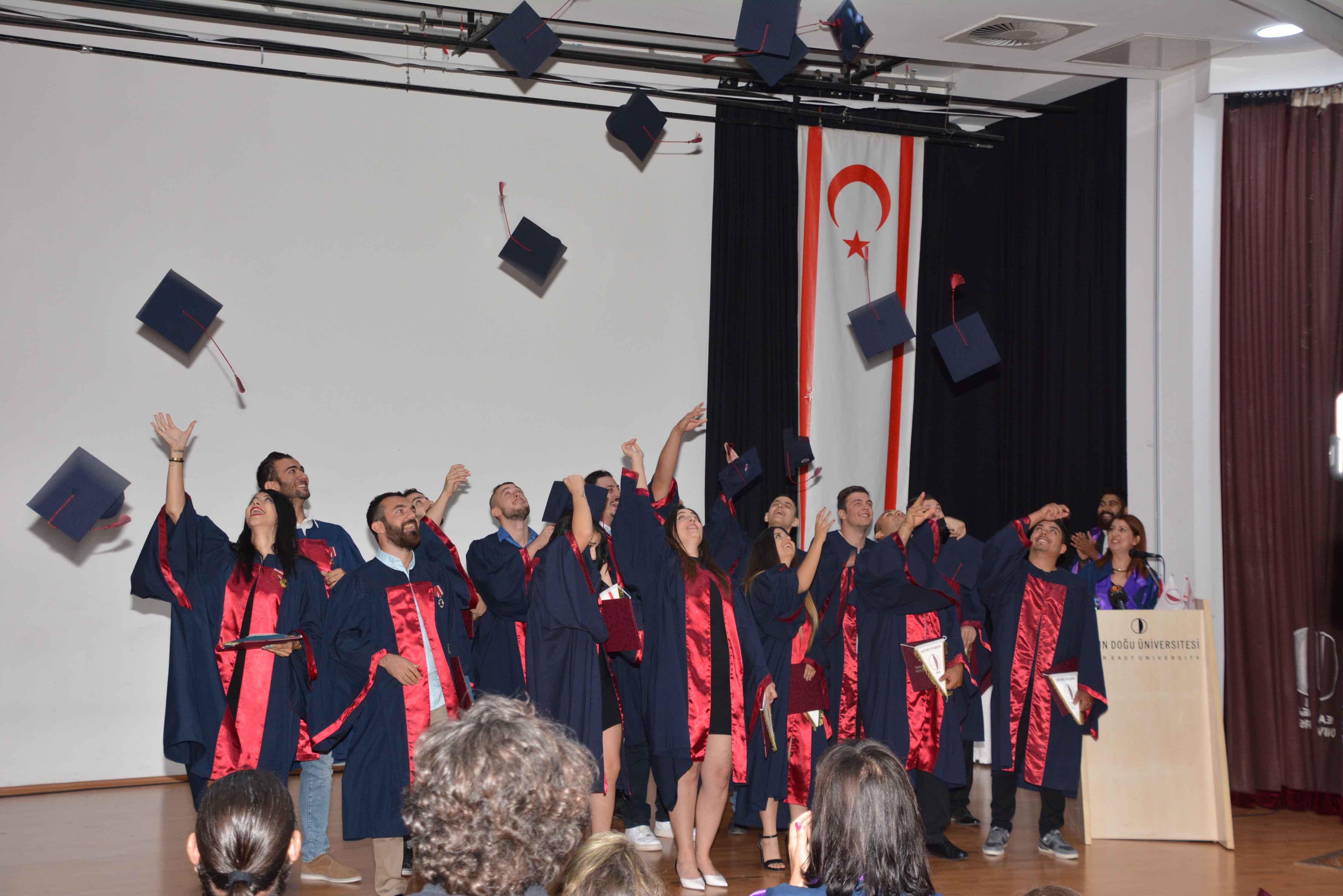 Near East University Fine Arts and Design Faculty Graduation Ceremony realized
