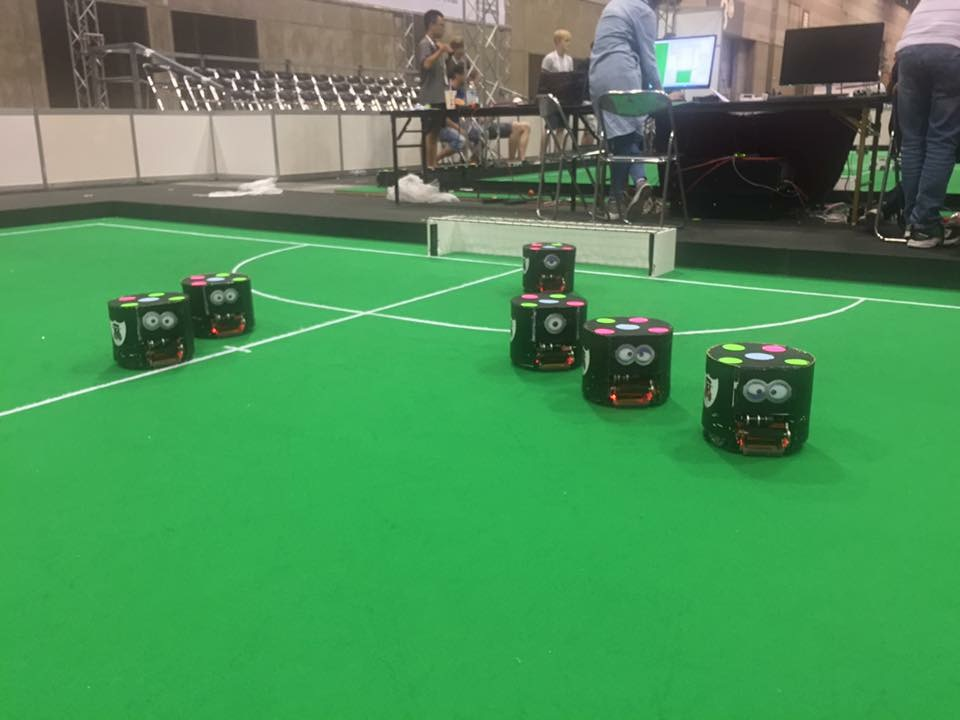 NeuIslanders completes Robotic Soccer World Cup First Day Matches