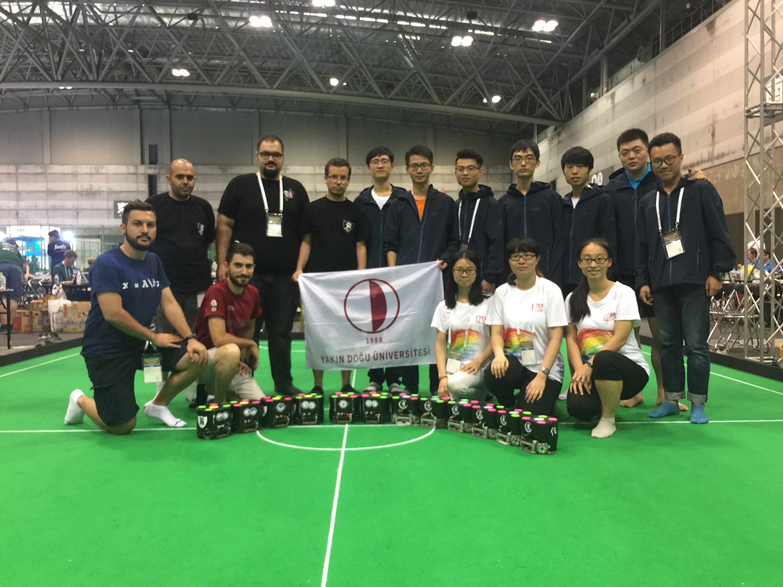 NeuIslanders Robotic Soccer Team promoted to a higher tour in the world cup