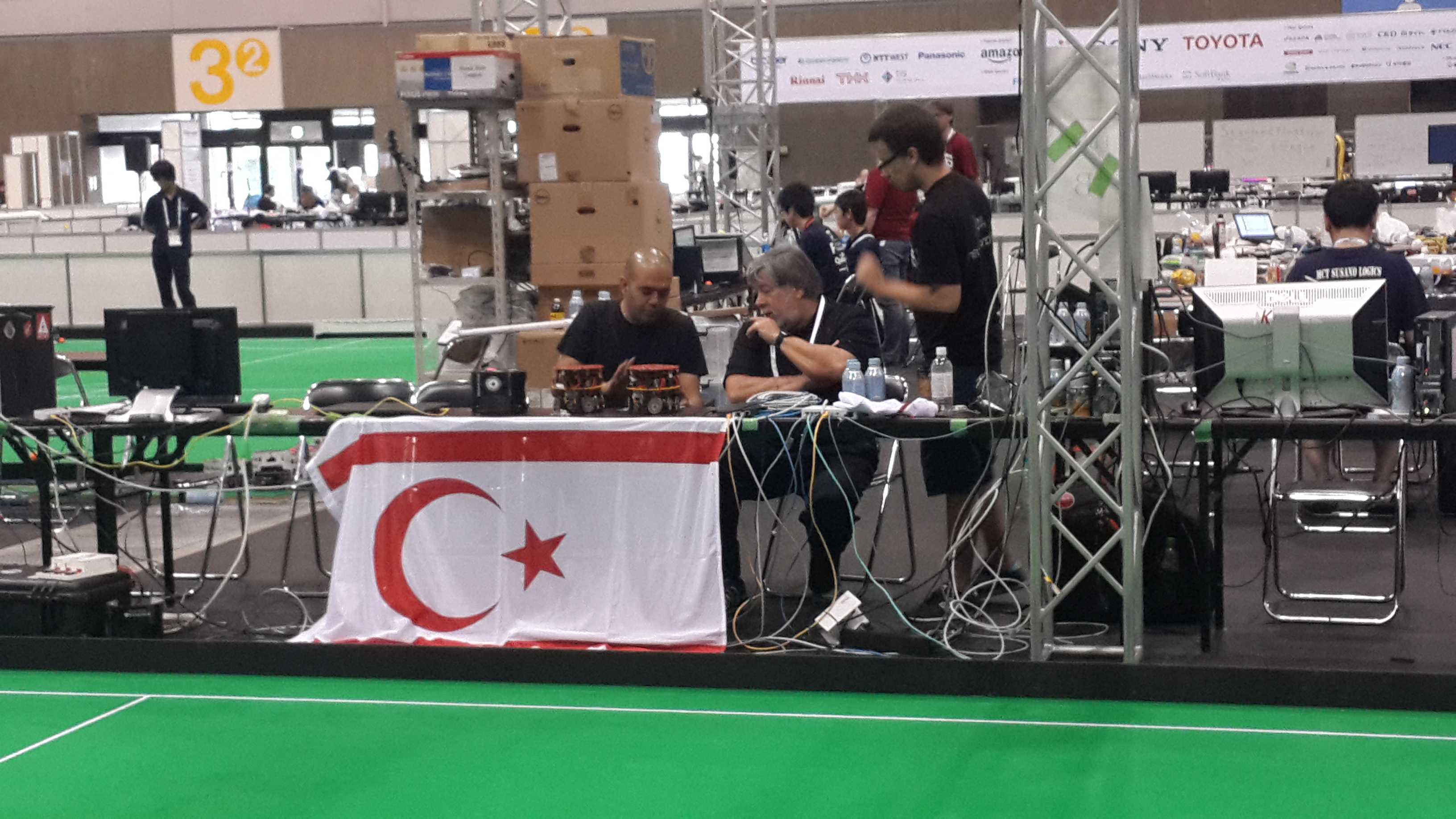 Steve Wozniak, Co-Founder of Apple Inc, showed great interest in the robotic soccer team NEUIslanders competing in Robot Soccer World Cup (RoboCup) 2017