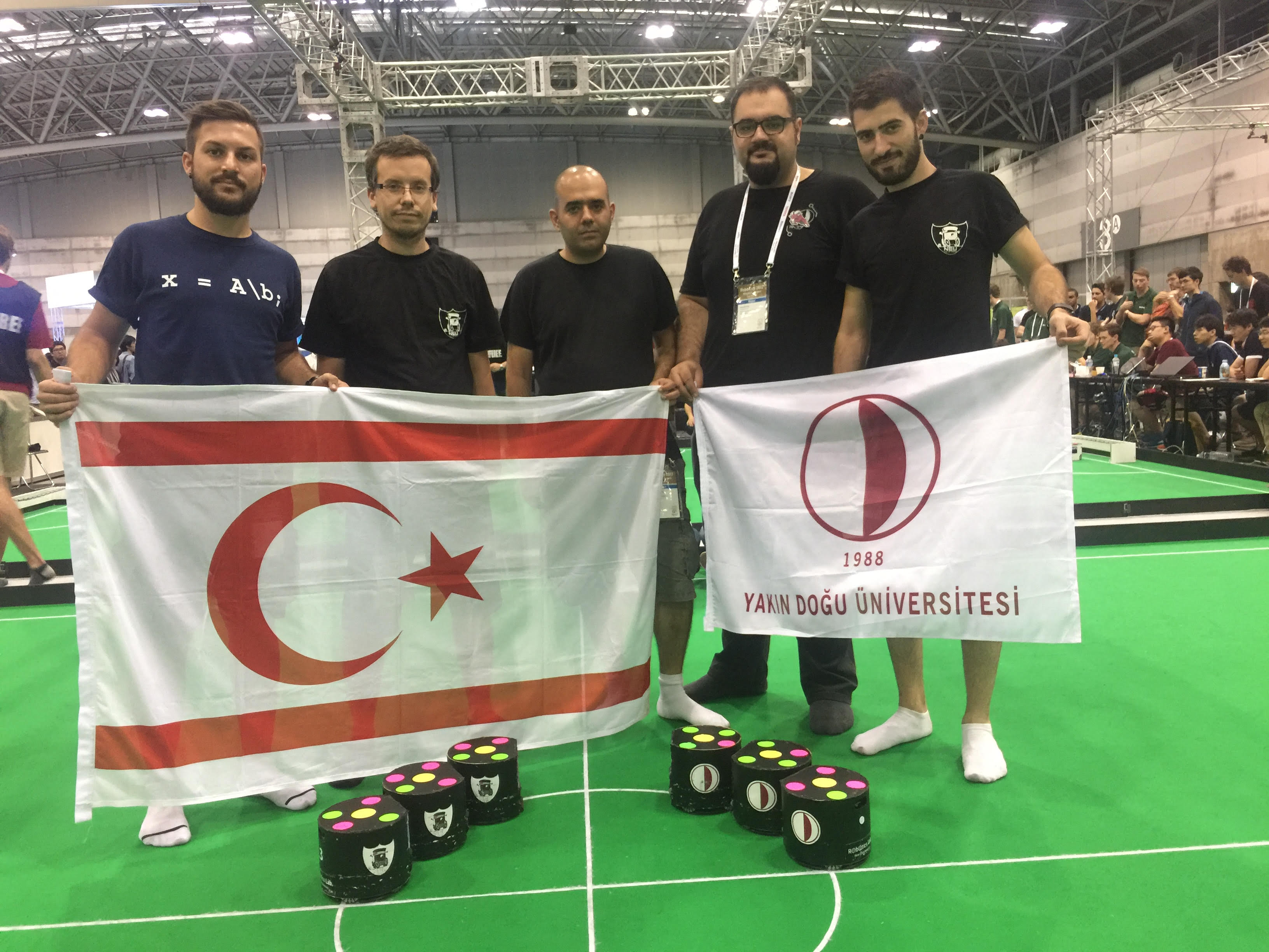 NEUIslanders has become the world's best 9th team in Robotic Soccer