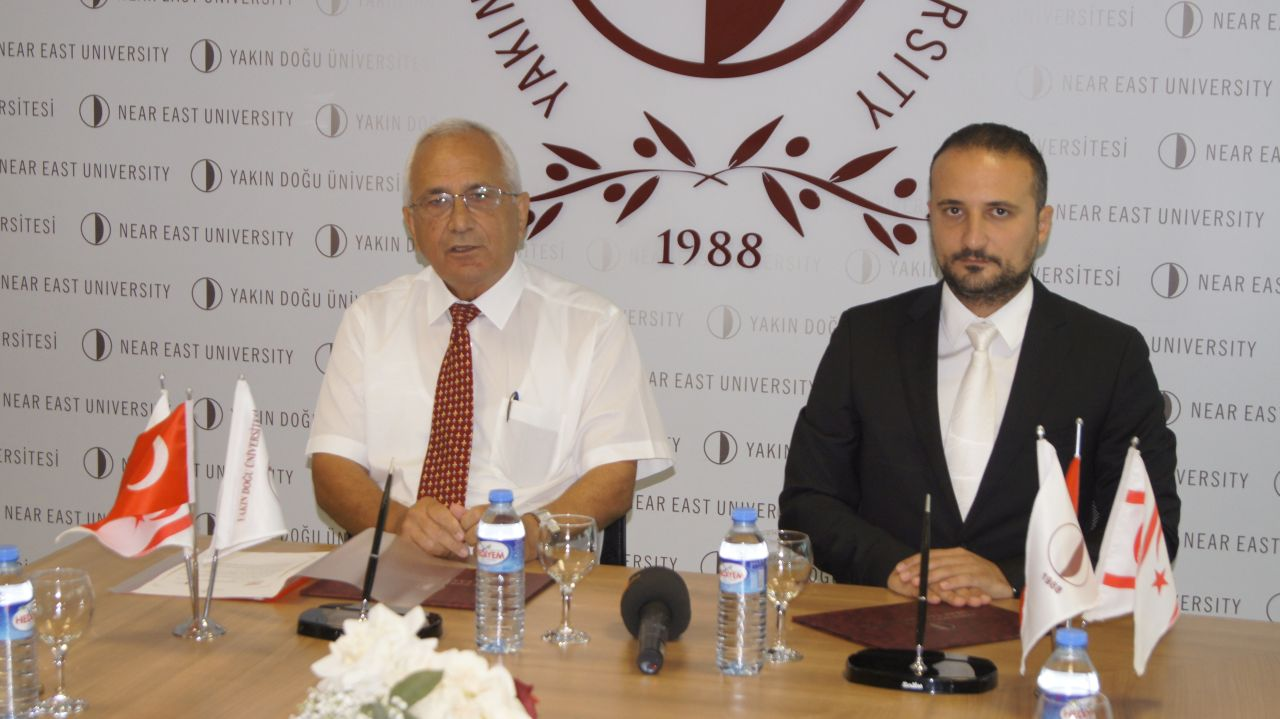 Cooperation Protocol was Signed between the Near East University and Northern Cyprus Turkish Red Crescent