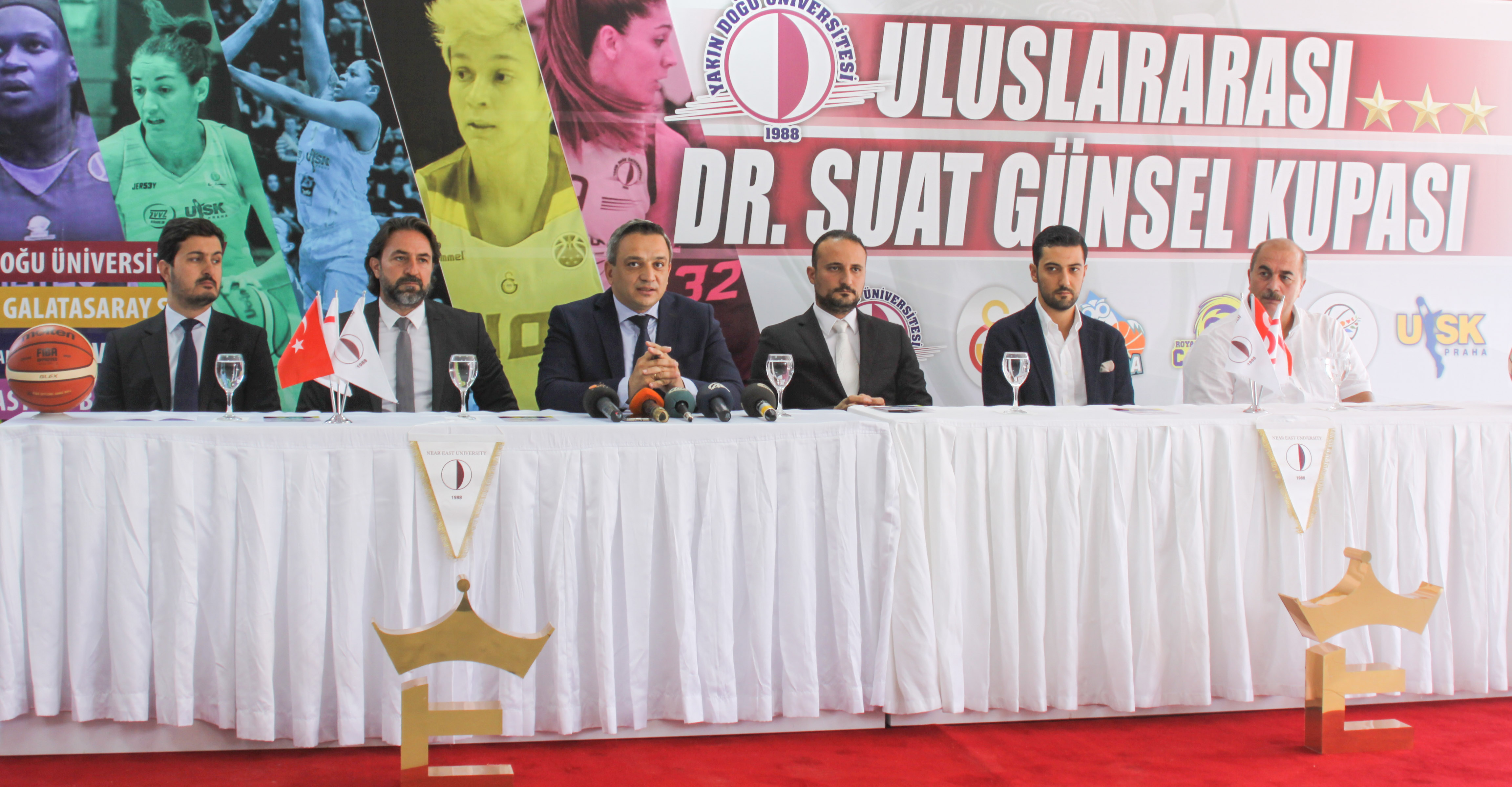 The cup excitement is about to begin…The press conference for the International Dr. Suat Günsel Tournament has been realized