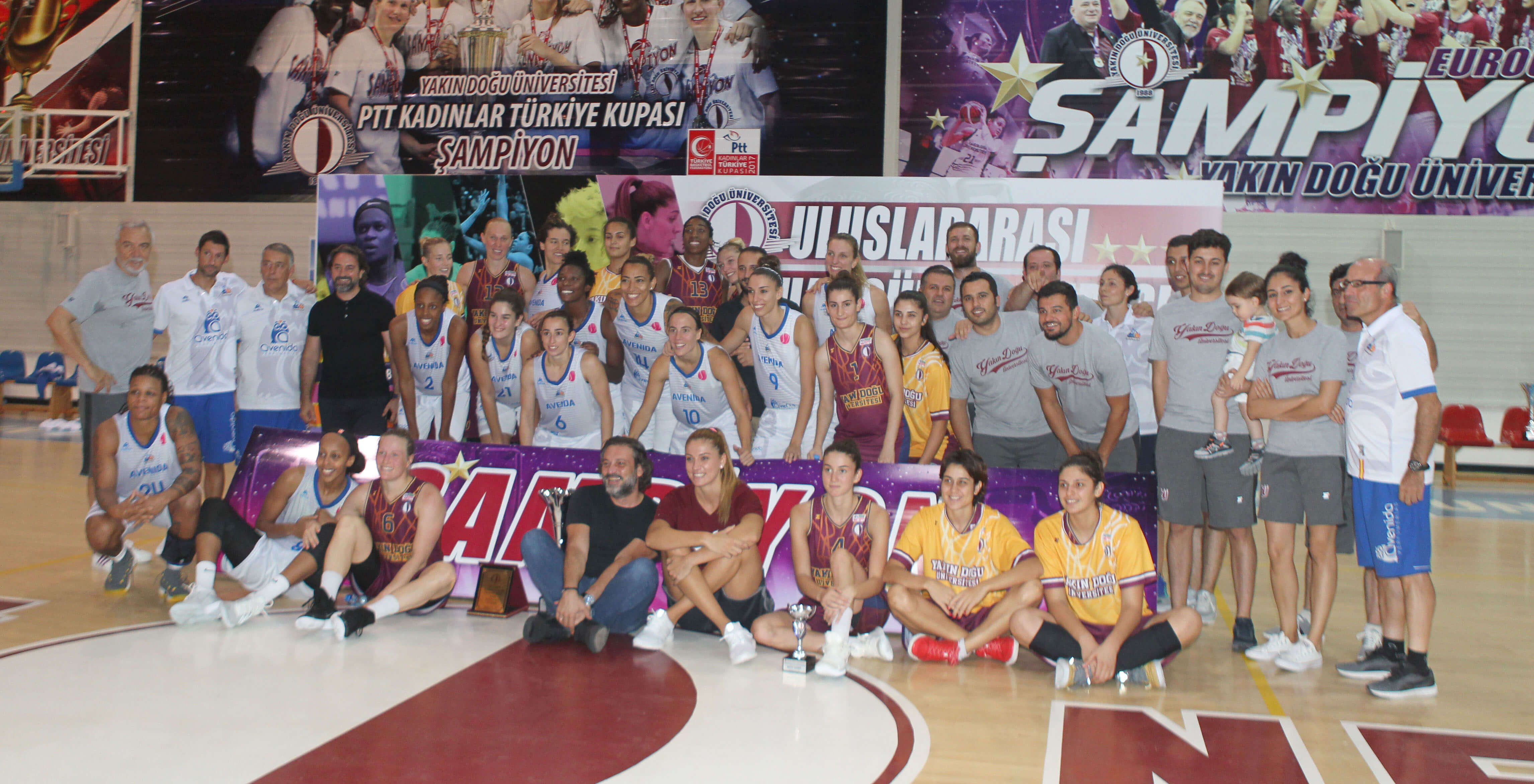Dr. Suat Günsel Cup International Basketball Tournament has been completed…CB Avenida is the Champion