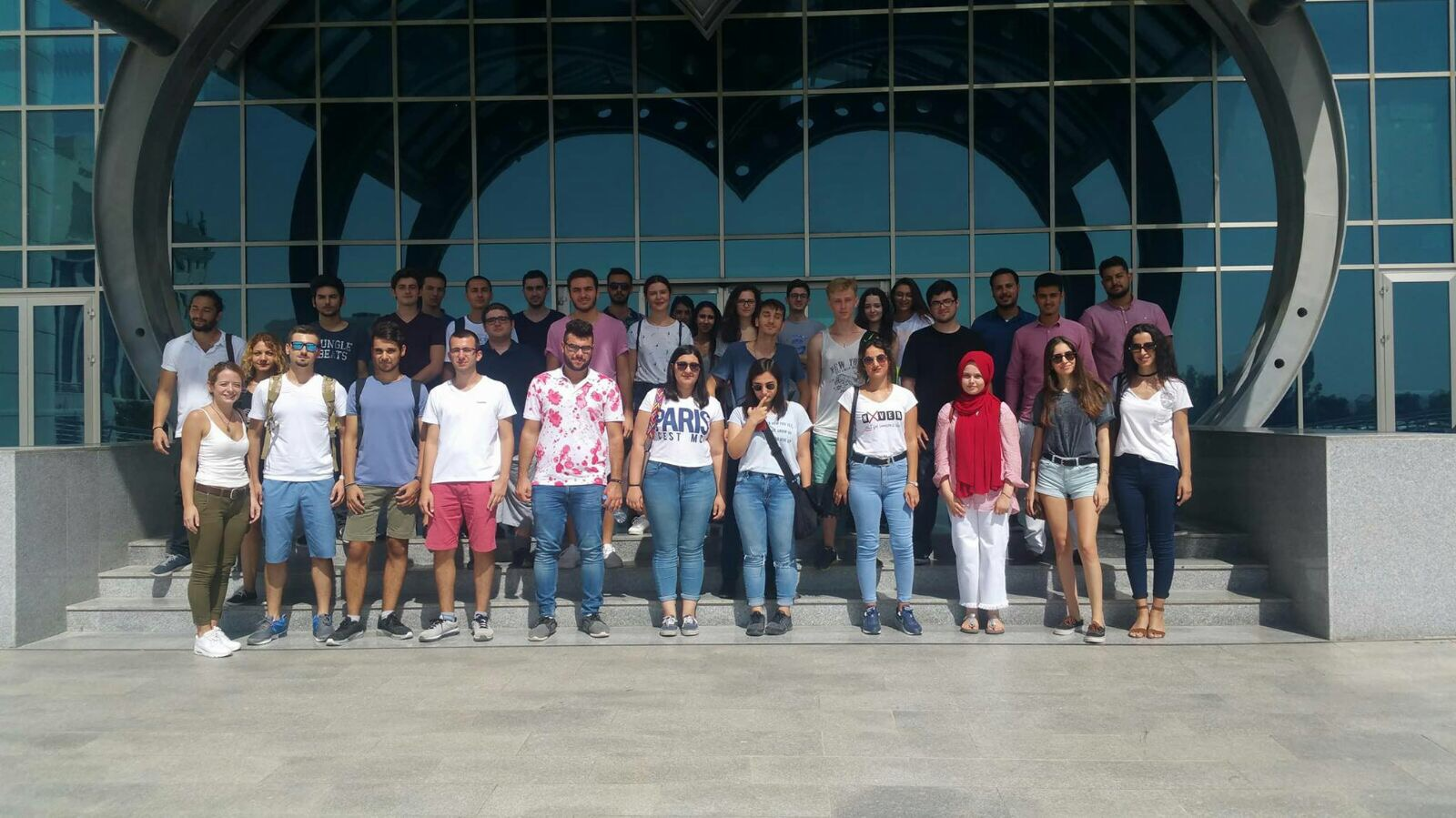 Orientation Days that organized for the New Students by the Near East  University continue