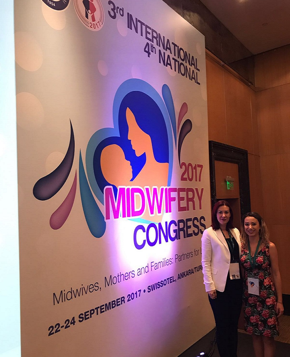 Near East University Department of Midwifery has been represented at the 3rd International – 4th National Midwifery Congress