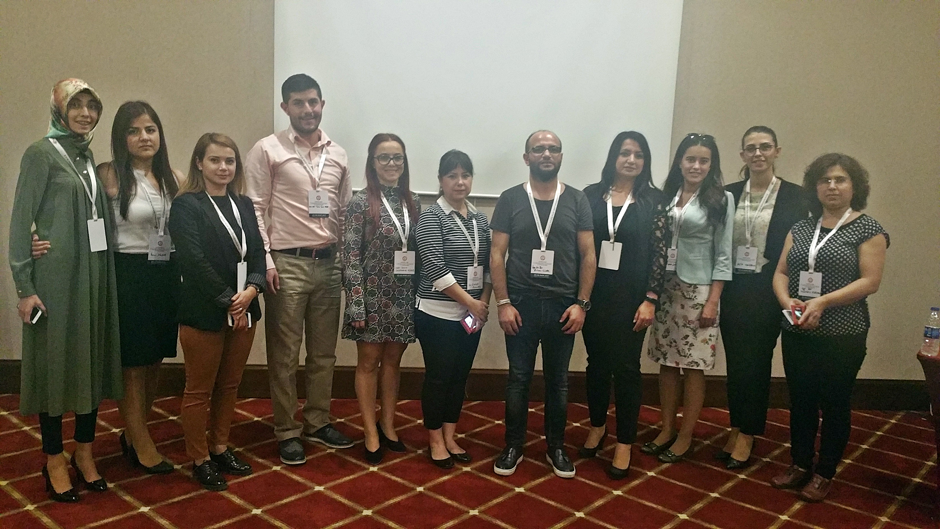 Near East University Department of Nursing has been represented at the International Congress on Women's and Children's Health and Education in Kocaeli