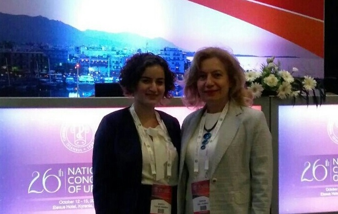 Near East University Department of Nursing has been represented at the National Urology Congress