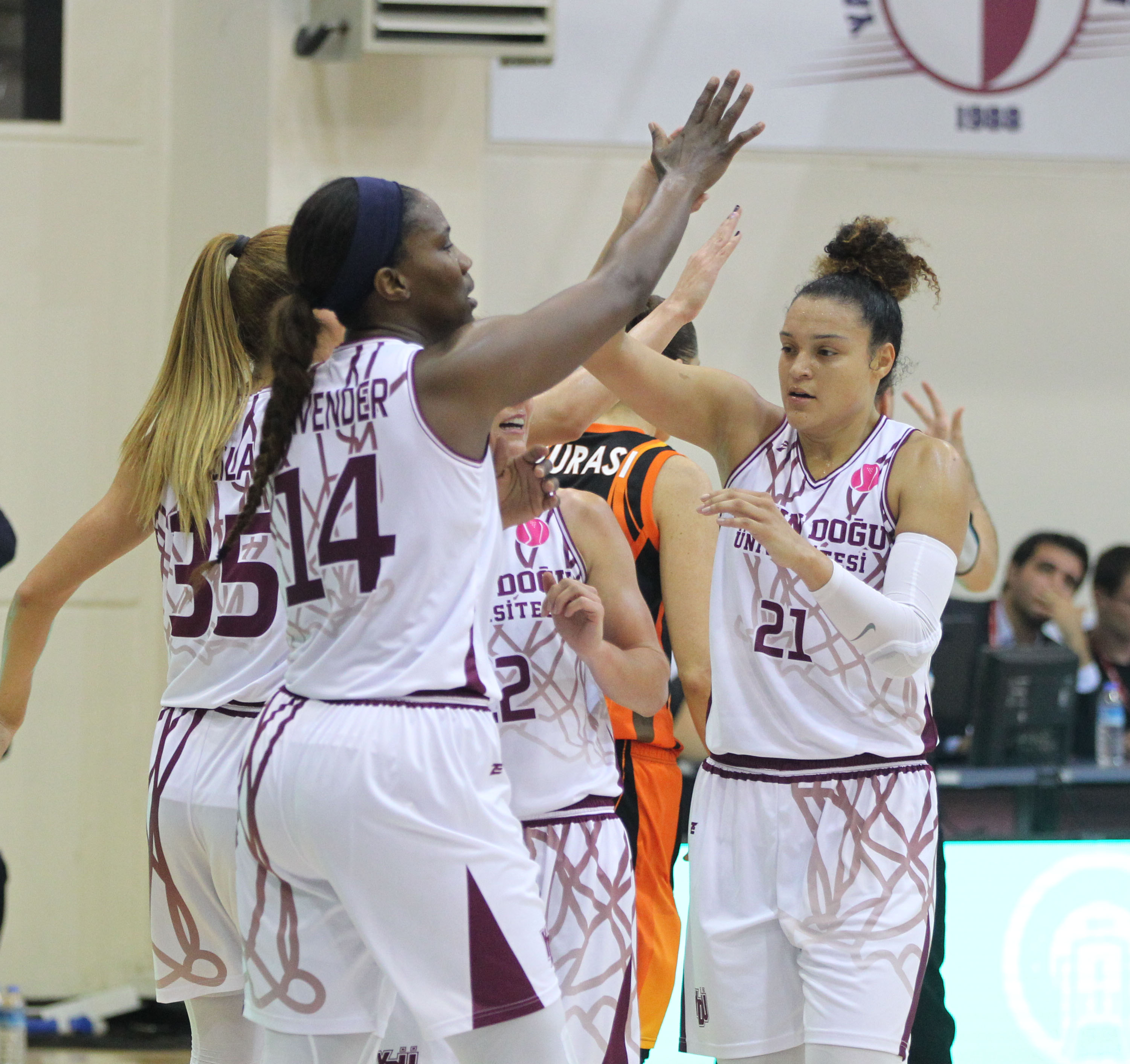 First Defeat in Europe … Near East University: 70 -UMMC Ekaterinburg: 79