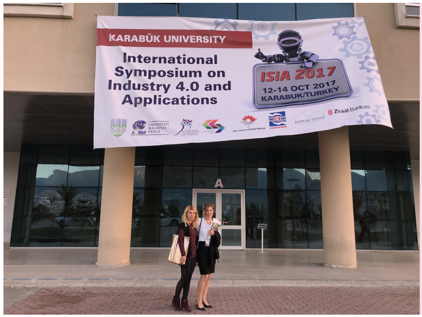 The work of Academic Members of Near East University Faculty of Engineering received a lot of attention at the International Symposium on Industry 4.0 and Applications (ISIA 2017)