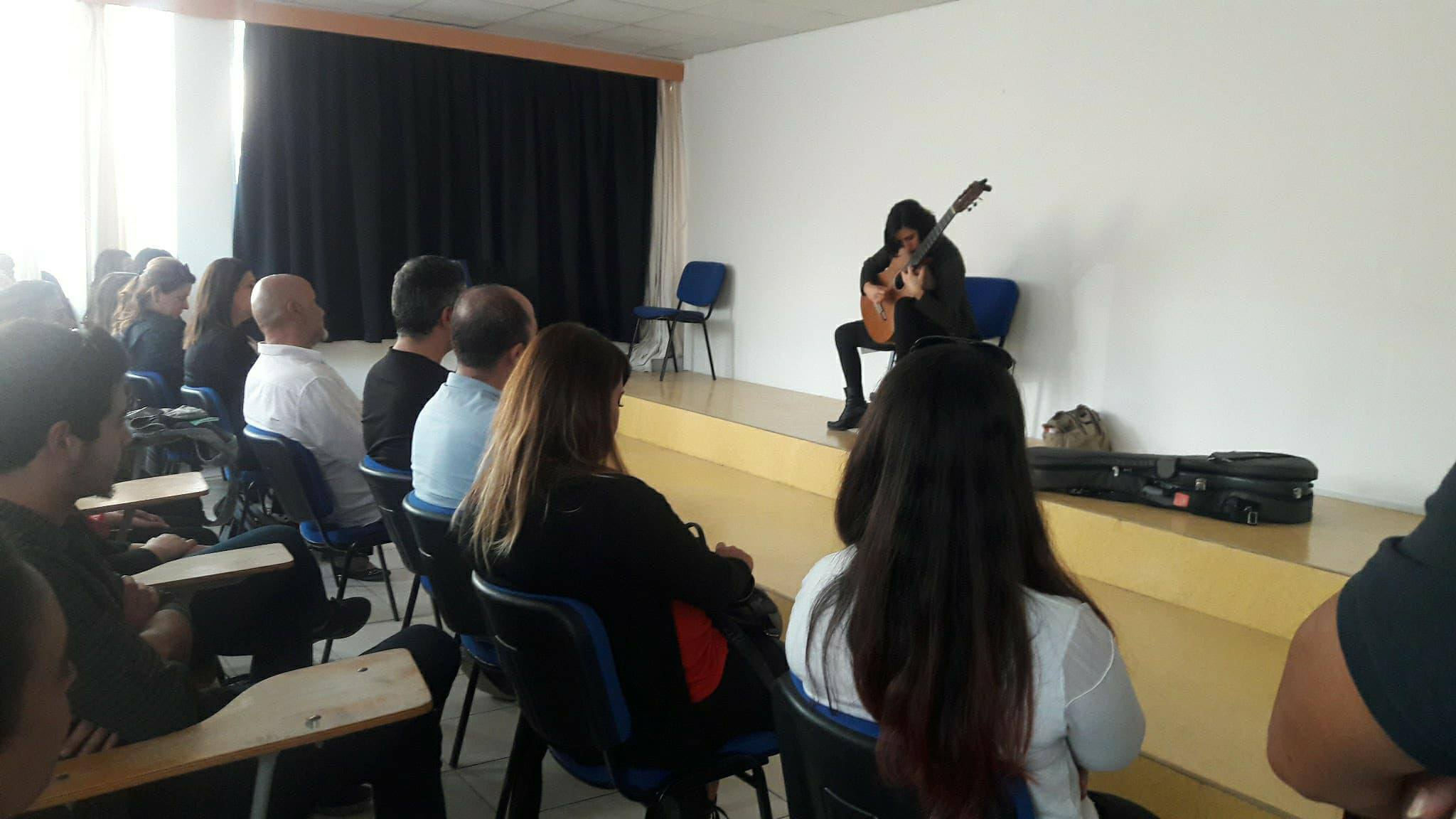 Near East University Department of Music Education hosted a World-Renowned Star: A Recital and Workshop given by Ayşegül Koca