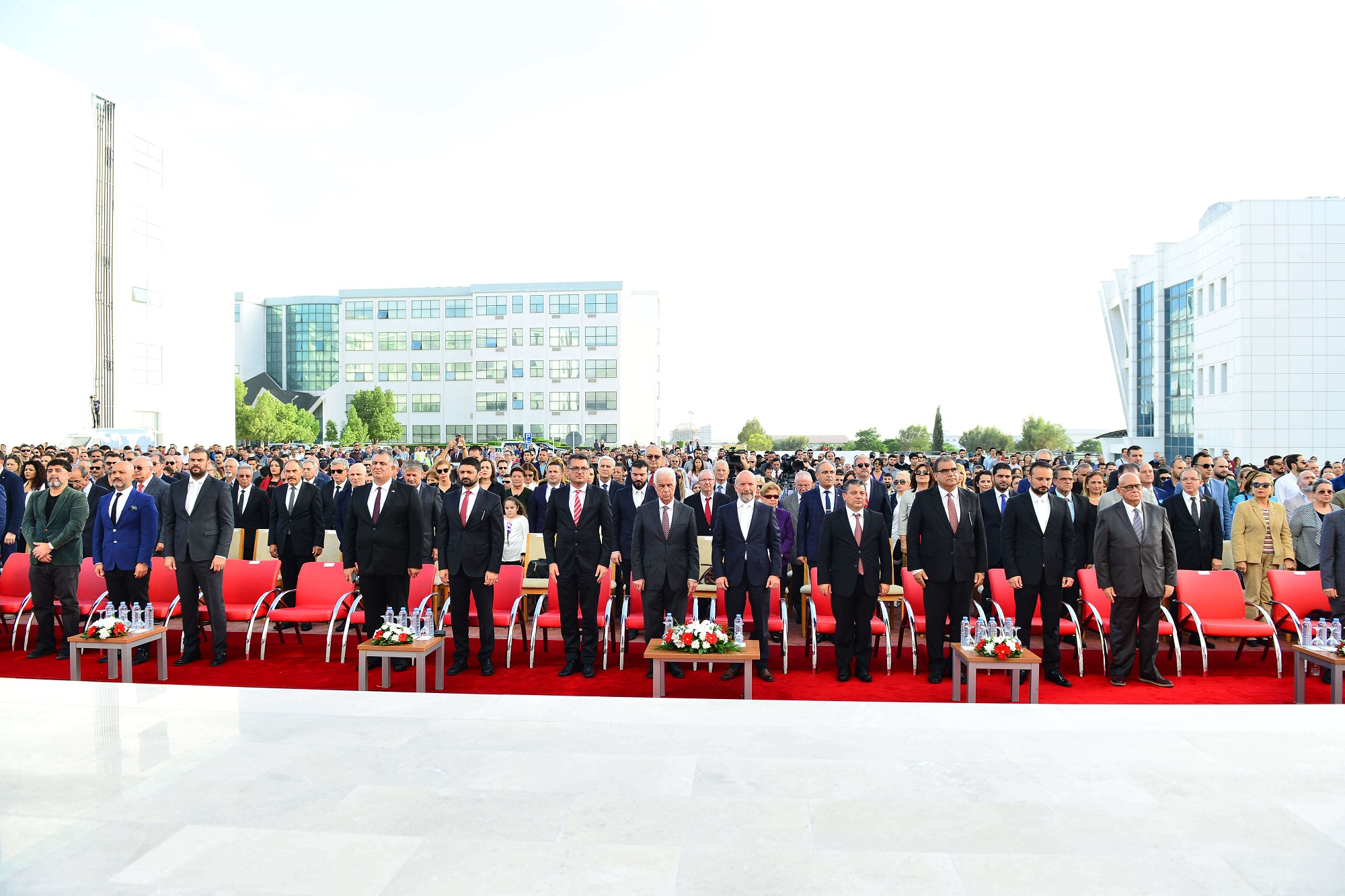 Near East University's New Building of the Faculty of Health Sciences and İrfan Günsel Congress Center opened with a Grand Ceremony