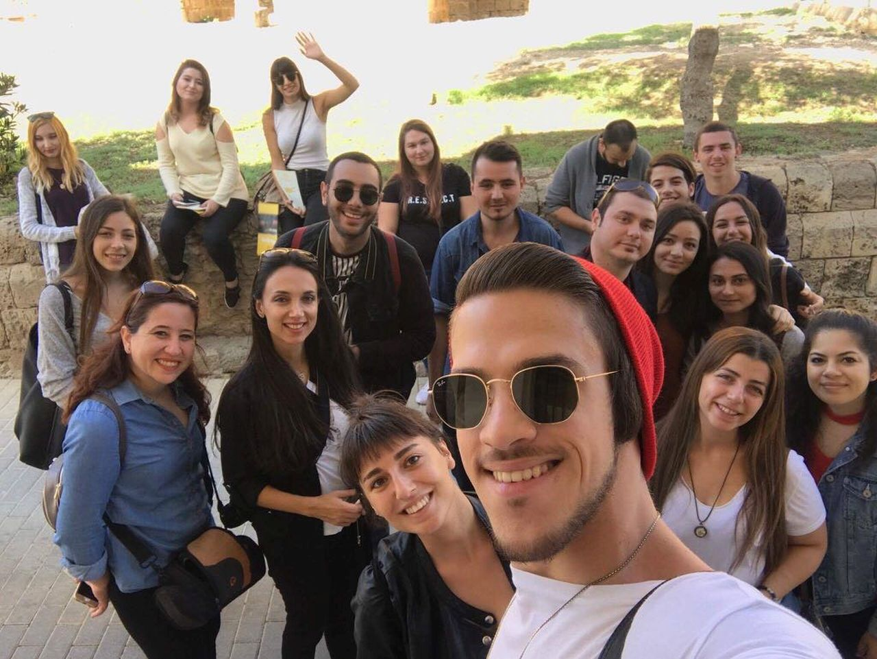 "Near East University Faculty of Communication, Department of Visual Communication and Design held a research expedition to Famagusta regarding ""City Aesthetics"""