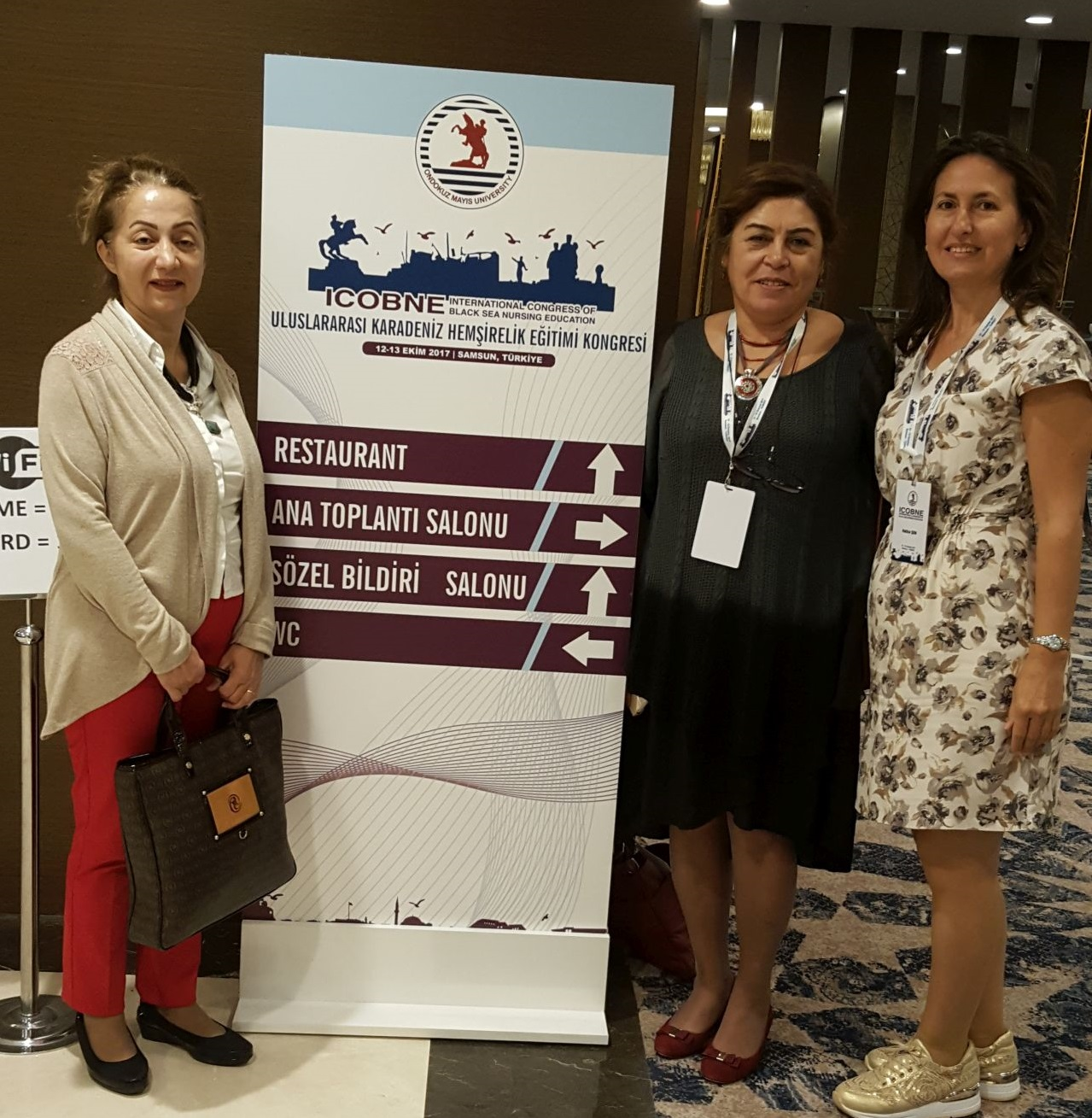 Near East University Faculty of Health Sciences attended an International Congress on Nursing Education in Karadeniz