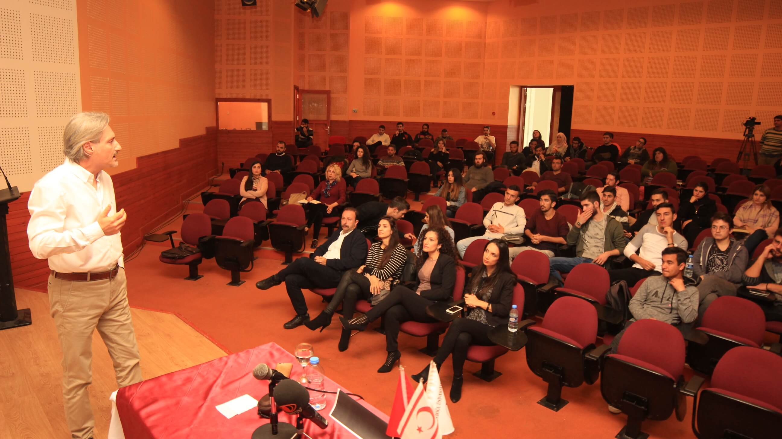 Near East University Faculty of Community Department of Public Relations and Advertising Brand Strategies Management Conference hosted Arkan Oryal Özbay