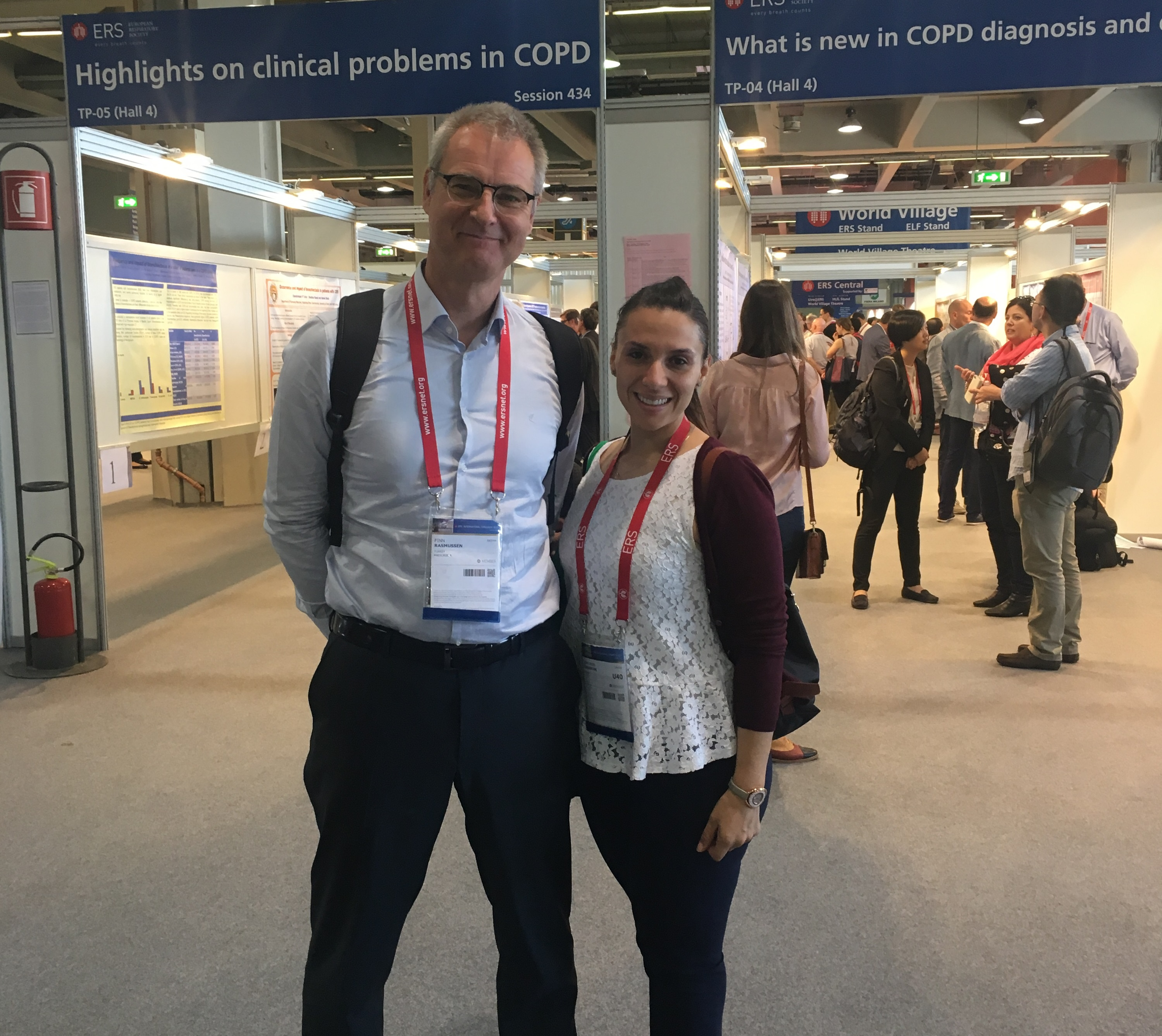 Near East University was represented at the International Congress on Pulmonary Diseases that held in Milan