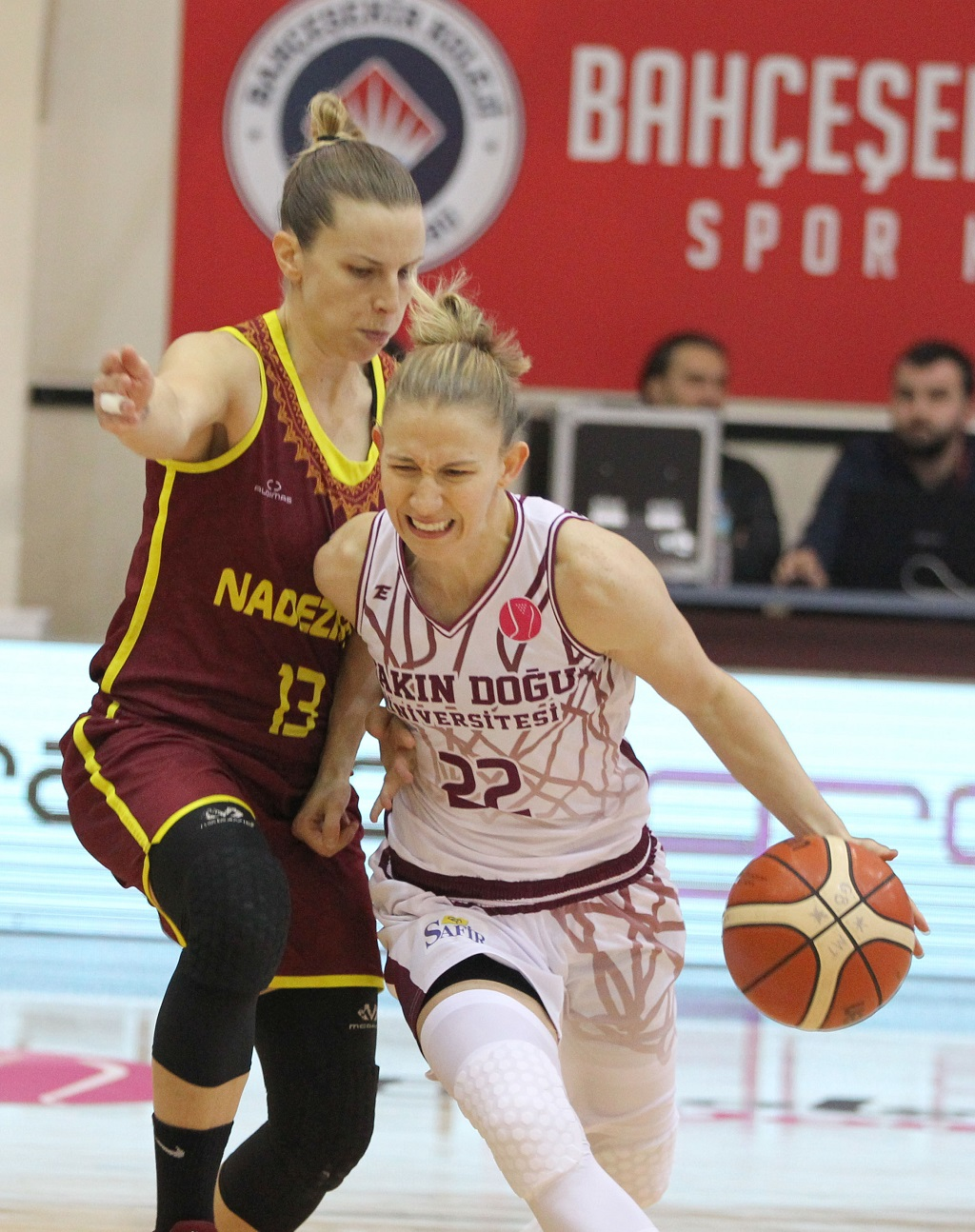 Near East University is at the top in FIBA EuroLeague as well….Near East Universiy: 93 – Nadezhda Orenburg: 71