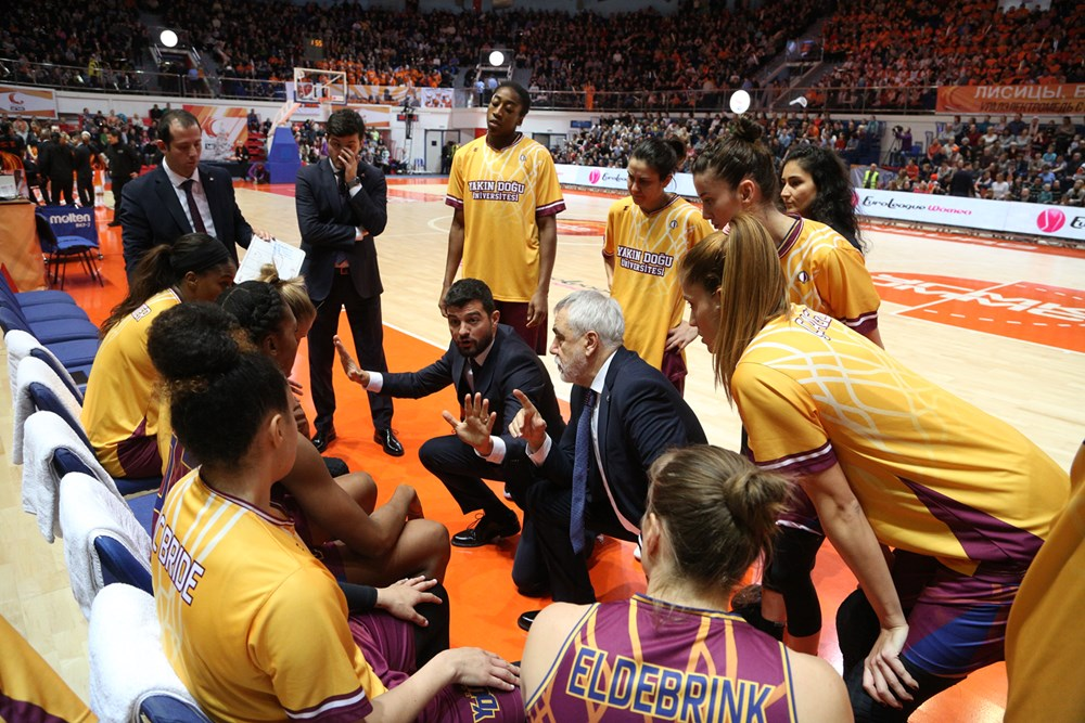 Near East University Paired with Bourges Basket for FIBA Euroleague Women Quarter Final…