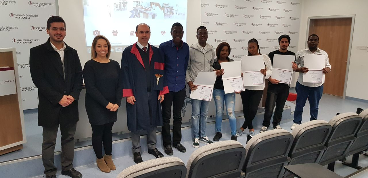 "Near East University Students who successfully completed their ""University Foundation Programme"" were awarded their Certificates…"