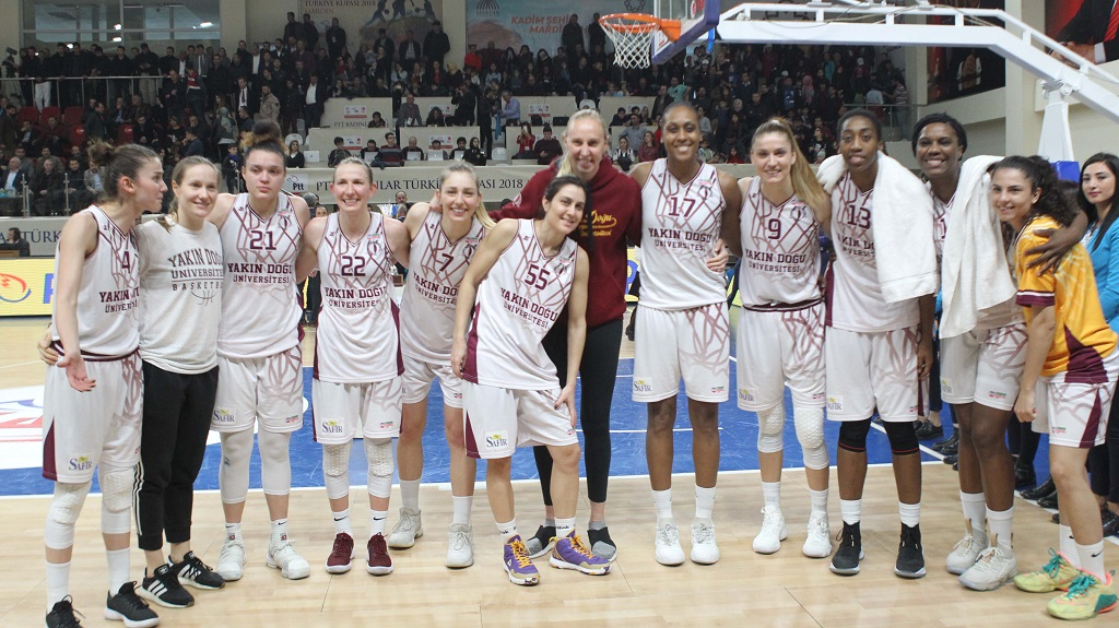 Near East University's Rival in Women's Euroleague Quarterfinals  French Bourges Basket …