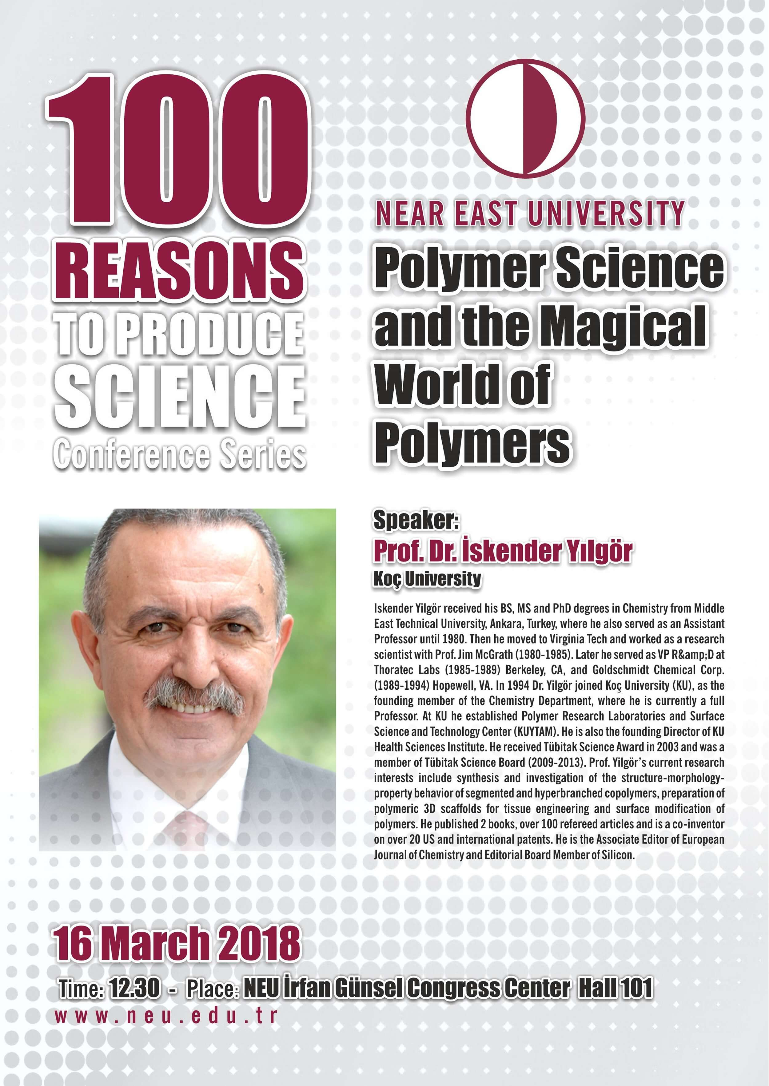 Conference: Polymer Science and the Magical World of Polymers