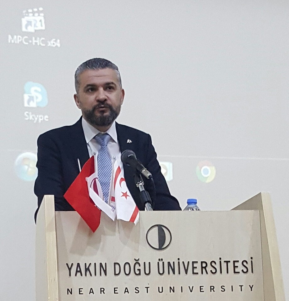 A Ceremony for the Commemoration of Martyrs and Celebration of the 18th March Çanakkale Victory was held at Near East University