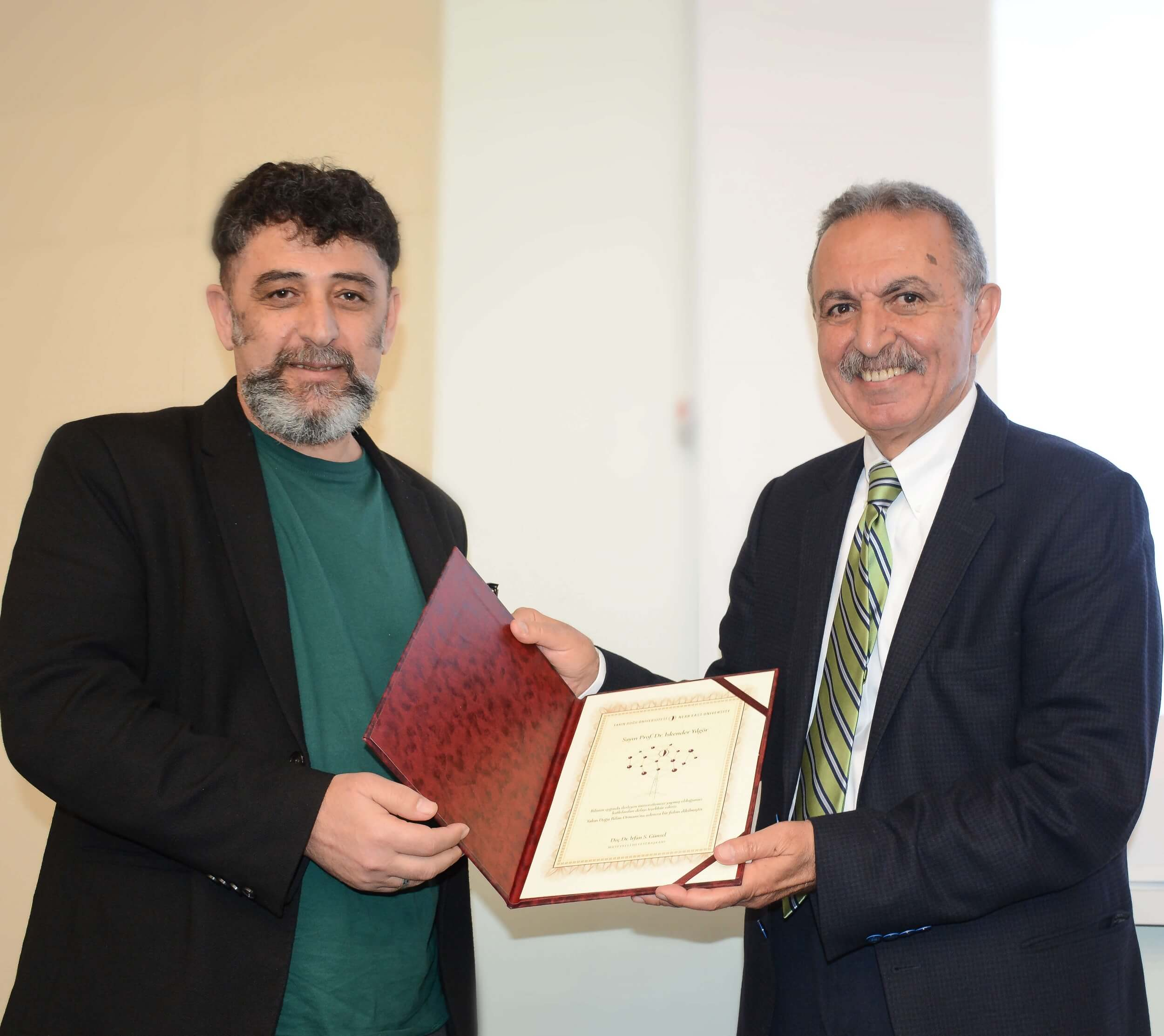 Organized by Near East University, Conference Series on '100 Reasons to Produce Science' hosted Prof. Dr. İskender YILGÖR who is one of the world's forerunners of studies on Polymers