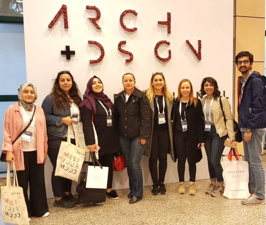 Near East University Faculty of Architecture attended Arch + Design Summit 2018