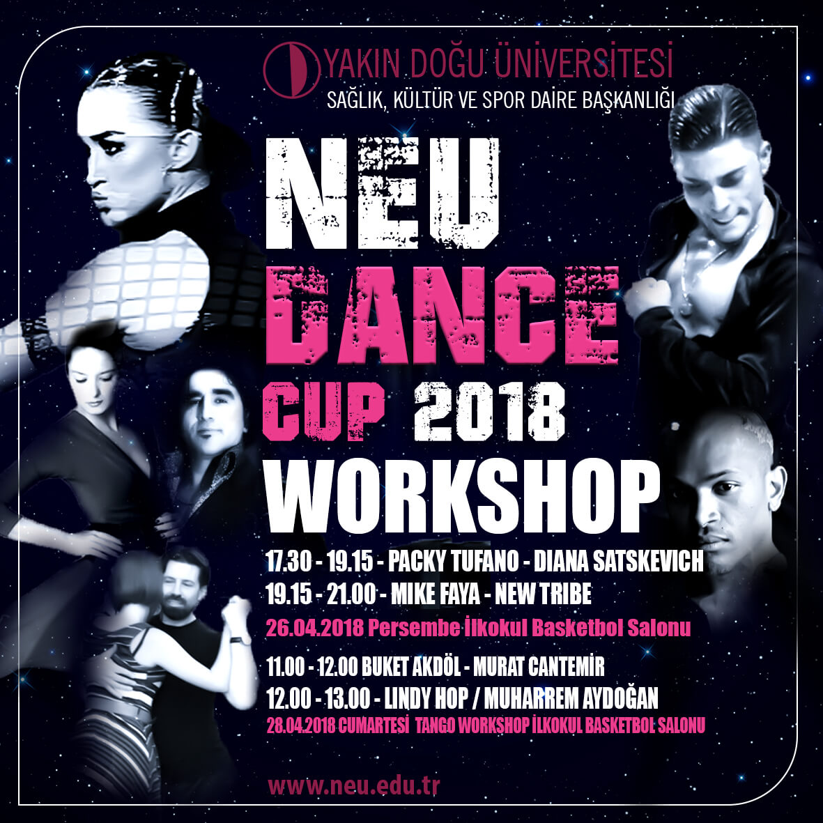 NEU Dance Cup 2018 & Workshop