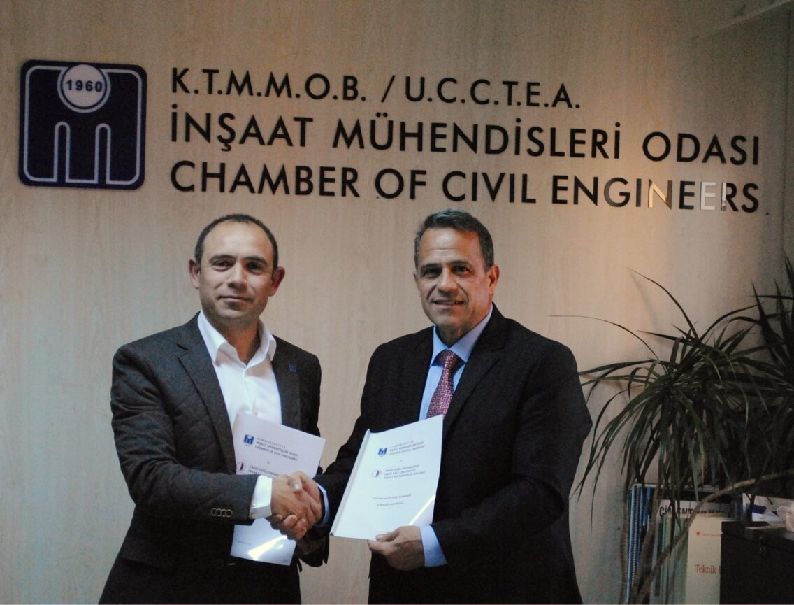 KTMMOB – IMO and Near East University signs a Cooperation Protocol