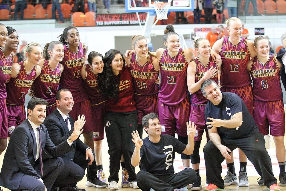 FIBA EuroLeague Women  Final-Four Excitement begins… Sopron Basket – Near East University