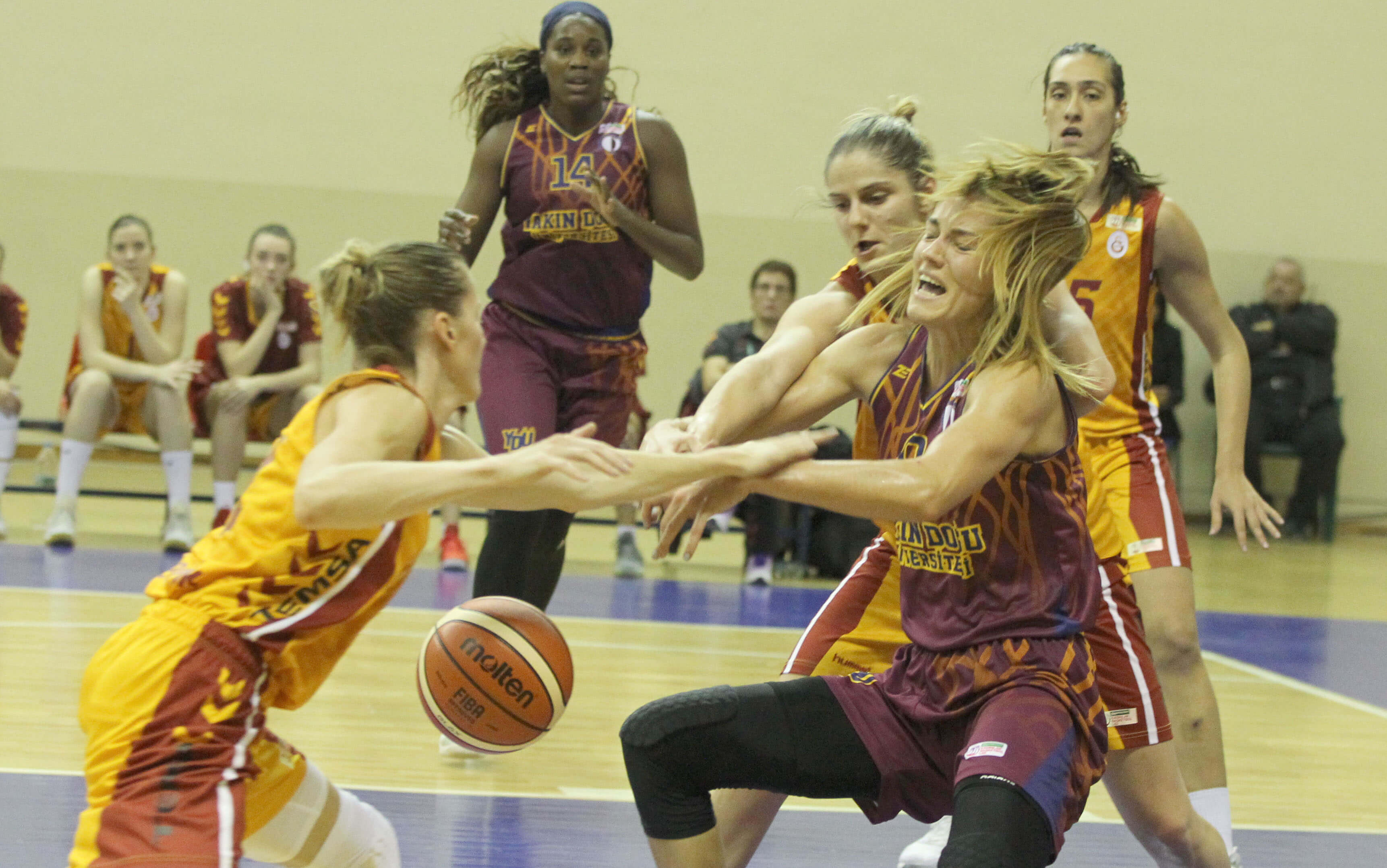 Near East University's Play-off Struggle to start in Women's Basketball