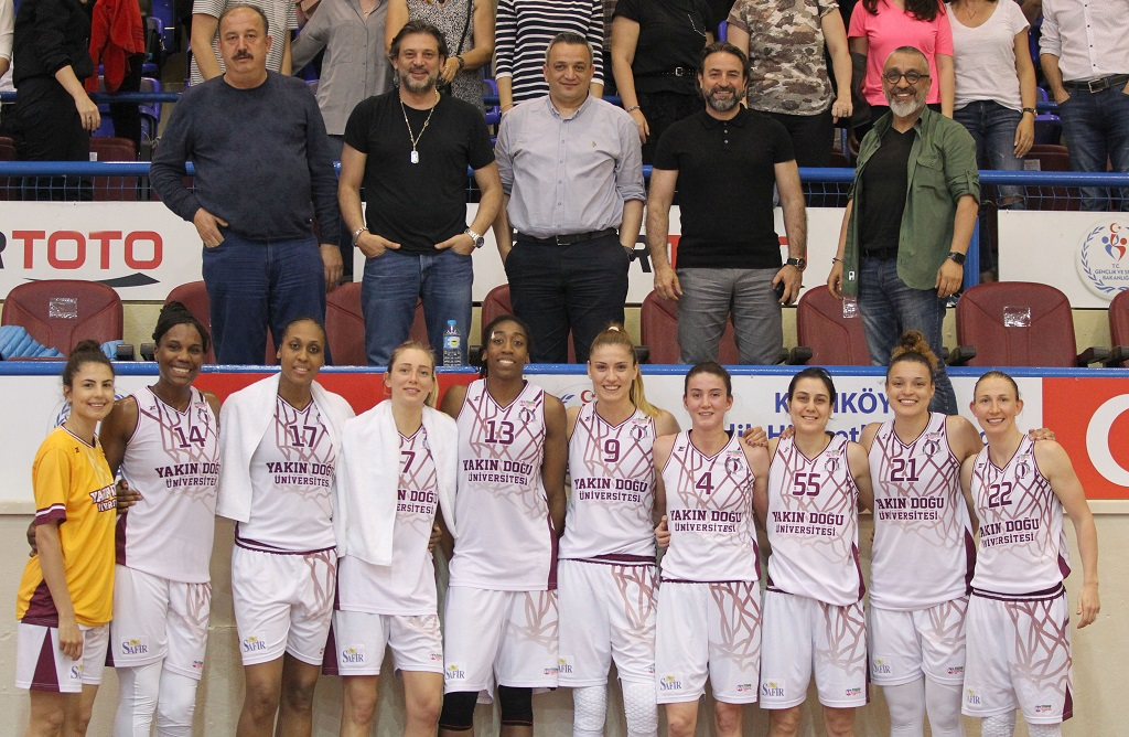 Near East University revealed its strength … Near East University: 90 – Galatasaray: 53
