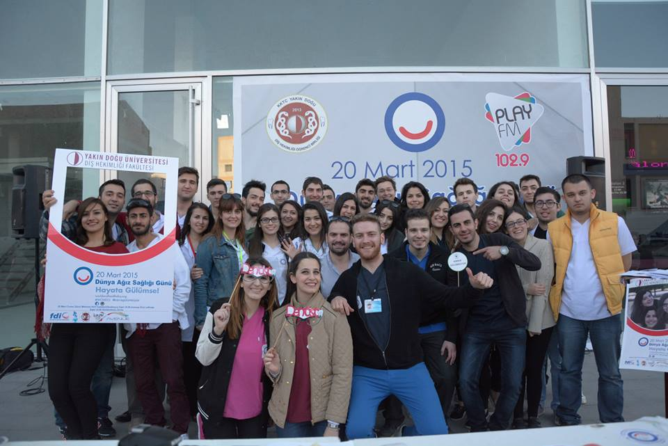 Embargoes are being broken… Association of Dental Students of North Cyprus has become a full member of IADS