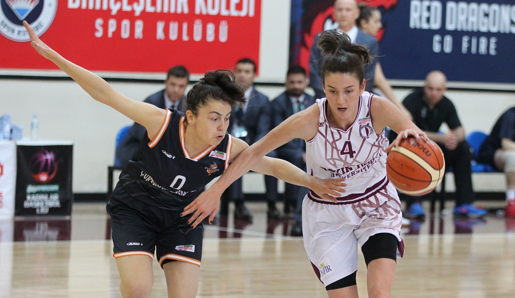 The semi-final series equalized to 1-1…..  Near East University: 55 – Çukurova Basketbol: 59
