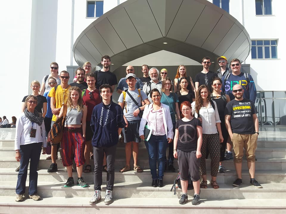 An Academic Group of 28 People from Humboldt University of Berlin paid a visit to the Near East University