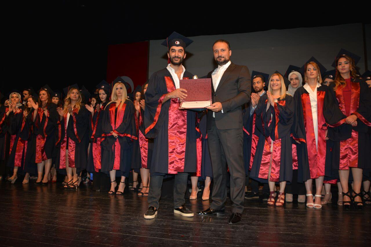 Near East University Faculty of Law 2017 – 2018 Spring Term Graduation Ceremony was held with intensive participation